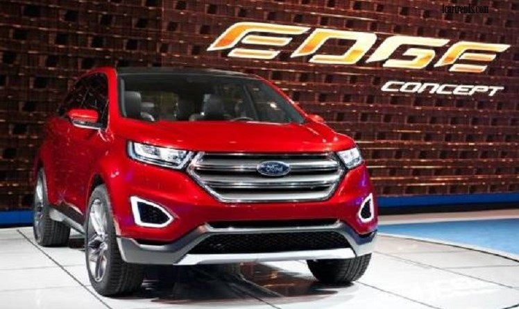 Ford Edge Redesign Release Date Sport