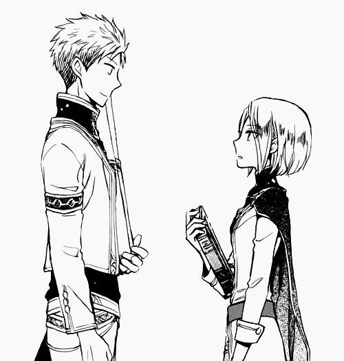 Akagami no Shirayukihime// Kiki e Mitsuhide