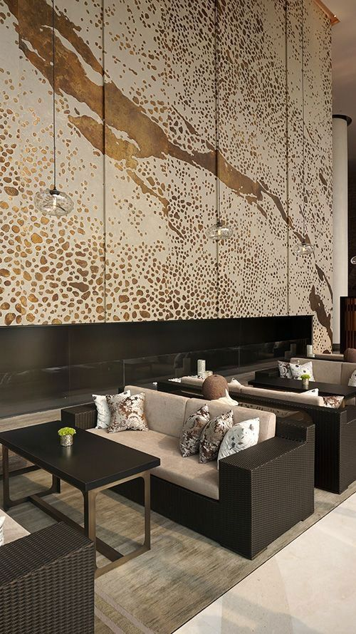 Bold Colors And Wall Art New Trends In Commercial Interior