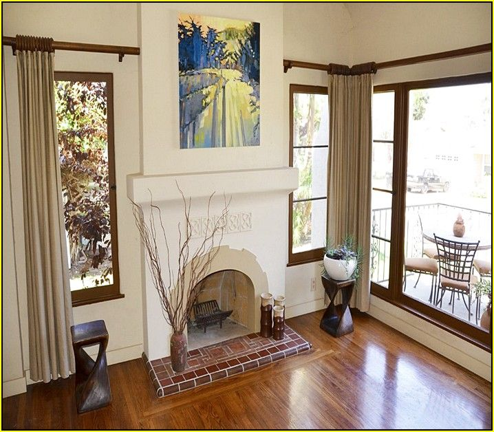 Spanish Tile Fireplace Designs images | Fireplace for Living Room ...