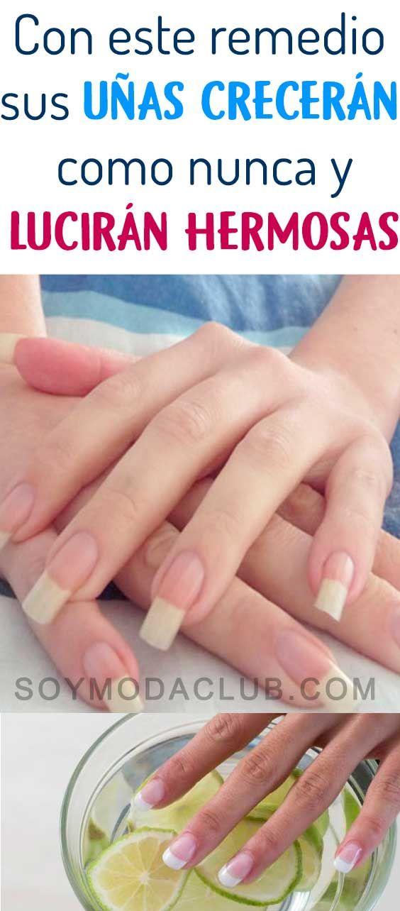 Hacer Que Las Uñas Crezcan Más Rápido Es Sencillo Con Los Remedios El Ajo El Limón Y El Aceite Acelerarán El Nail Art For Kids Pumpkin Nail Art Nails For Kids