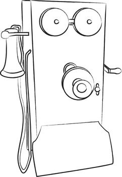 Alexander Graham Bell And His Inventions Clip Art 10 Pngs
