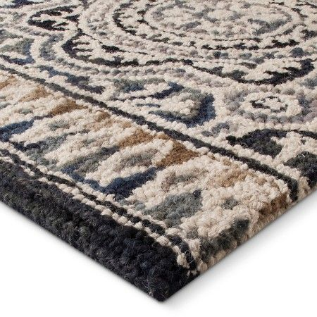 5 X7 Floral Belfast Tufted Area Rug Indigo Threshold Tufted