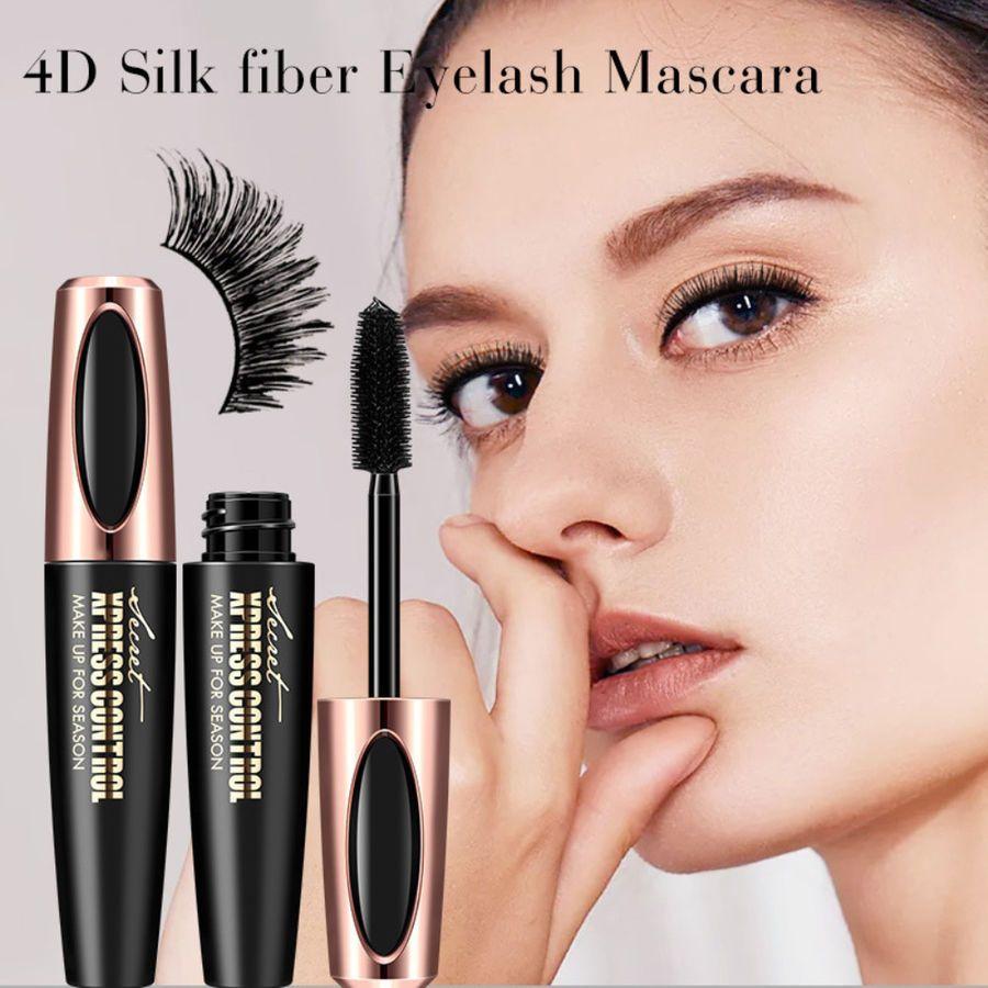 3bd3f4621f2 4D Silk Fiber Eyelash Mascara Extension Makeup Black Waterproof Eye Lashes  NEW!#Mascara#Extension#Eyelash