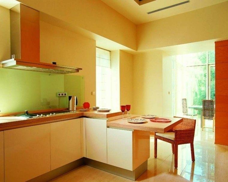 De Cocina | Pintura De Cocina De Color Amarillo Decoracion Cocina Pinterest