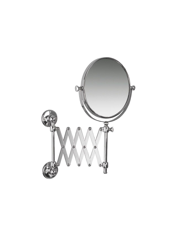 Room Lighting Design Software: Miller Stockholm Extending Magnifying Shaving Mirror