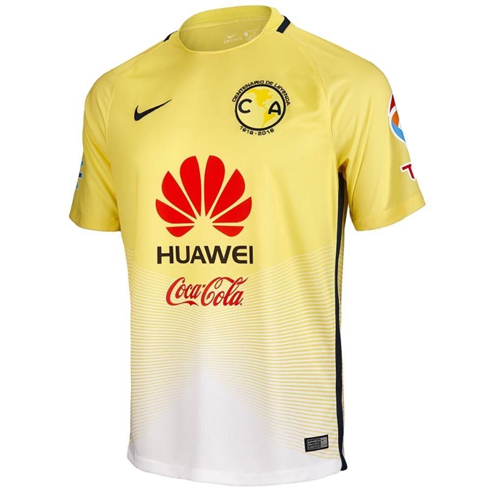 Club de Fútbol América (Mexico) - 2016/2017 Nike Centenary Home Shirt