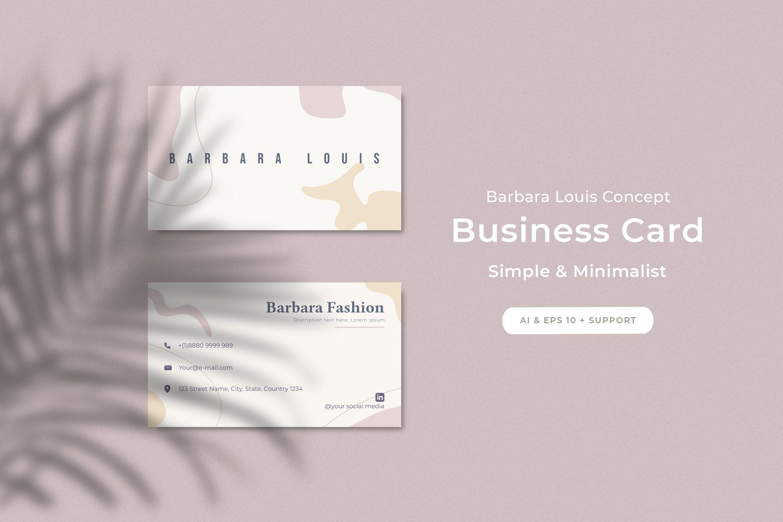 Minimalist fashion corner business card design in 2020 | Business cards  beauty, Business card design, Business cards simple