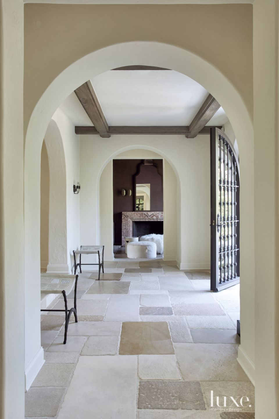Photo of A 1920s Mediterranean Revival-Style Venetian Islands Home   Luxe Interiors + Design