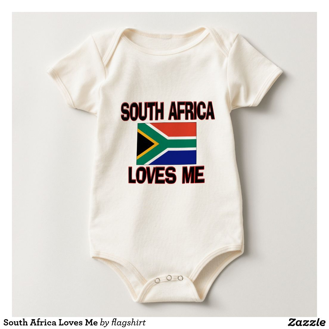 South Africa Loves Me Baby Creeper