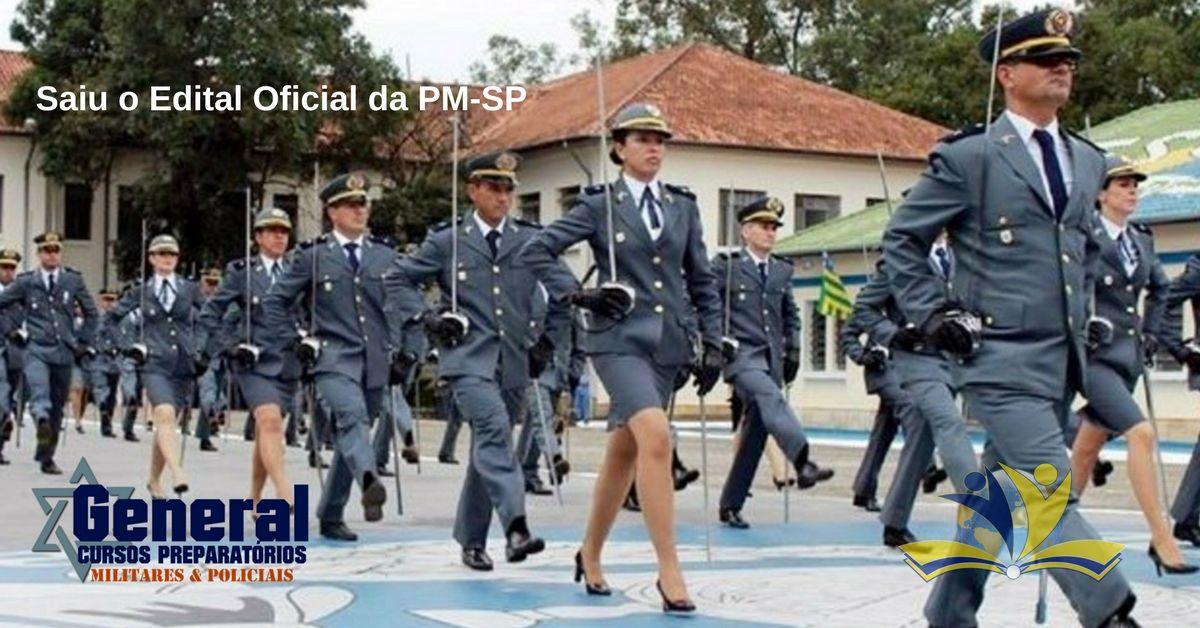 Saiu O Edital Para Aluno Oficial Da Pm Sp Academia De Policia