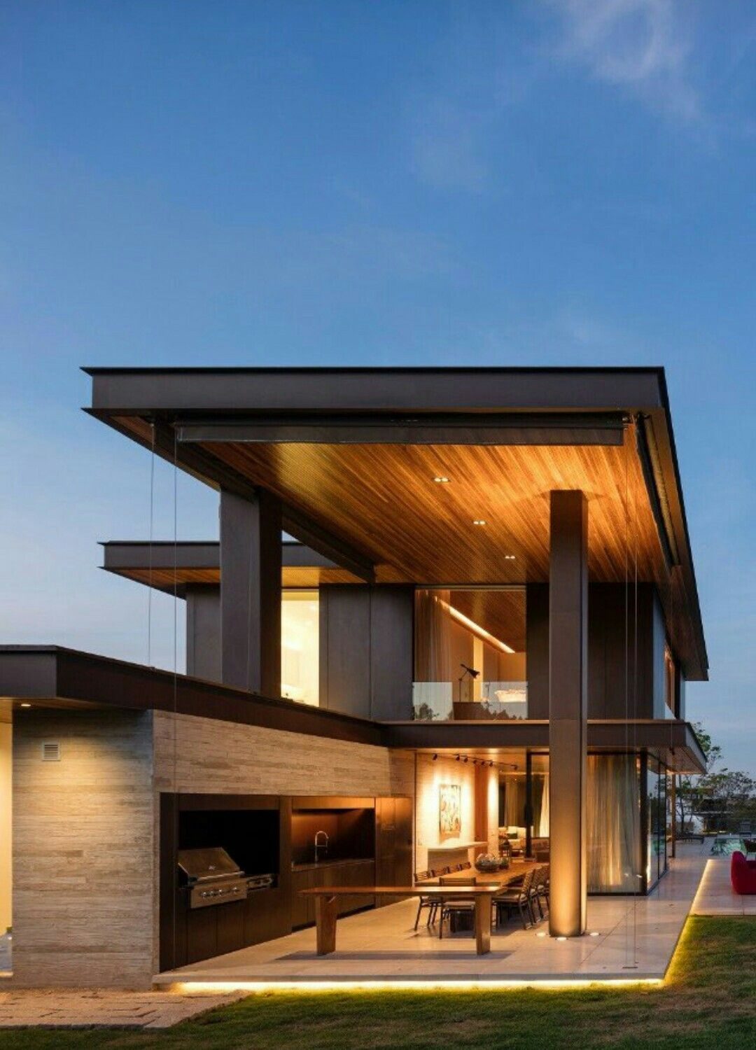 Pin By Erna On Rumah House Styles House Exterior Modern House