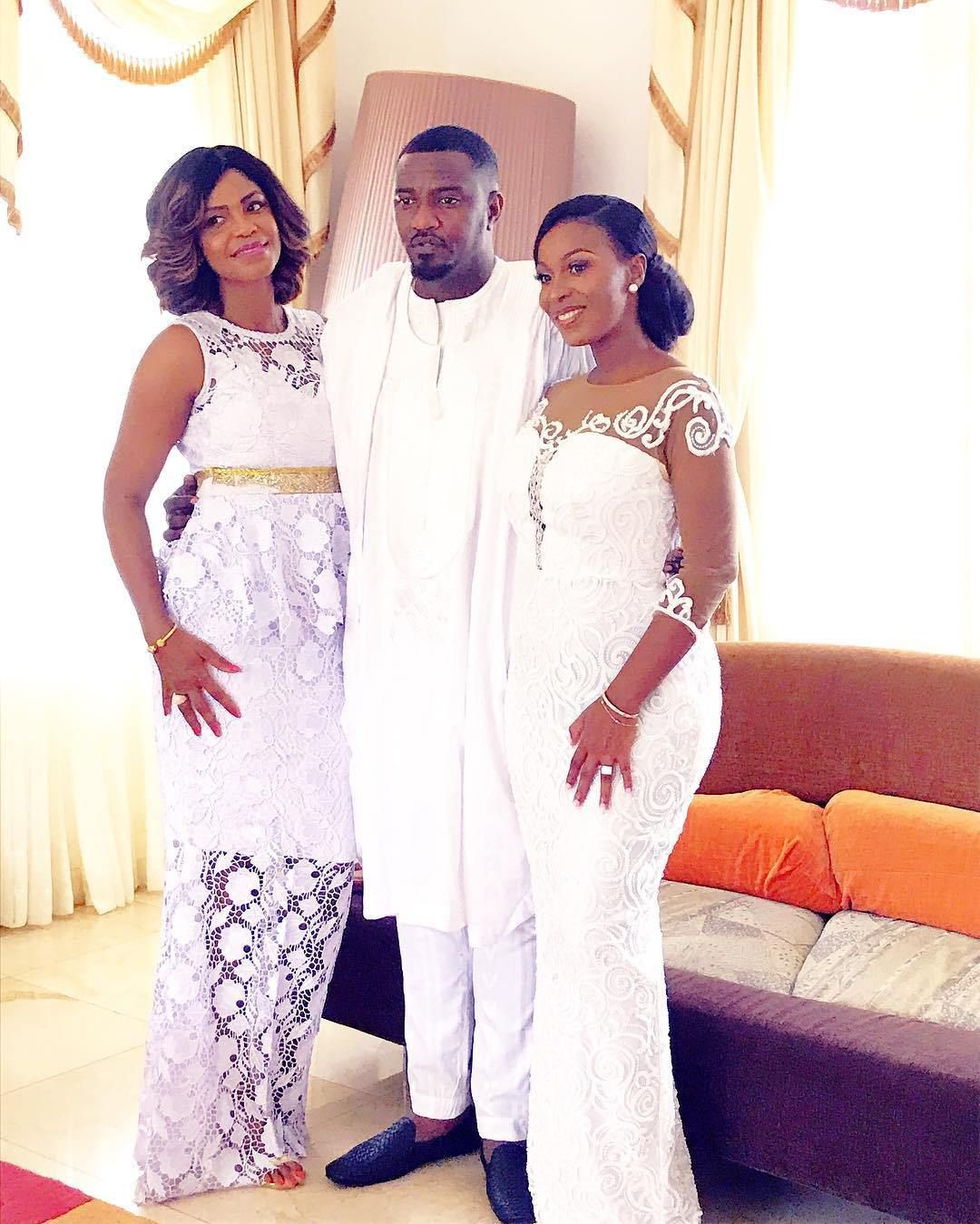 More Photos From John Dumelo And Mawunya S Traditional Wedding Wedding Guests Fab Look African Print Fashion Dresses African Wedding Attire Lace Dress Styles