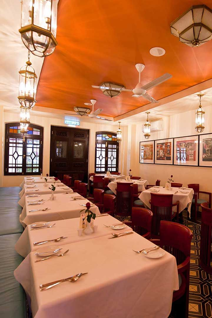 Diners Can Enjoy A Meal In An Eclectic Art Deco Meets Peranakan Setting At The Private Dining Room Of Cinnamon Restau Private Dining Room Penaga Private Dining