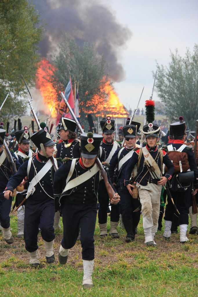Chasseurs and voltigeurs, French 9th Light Infantry