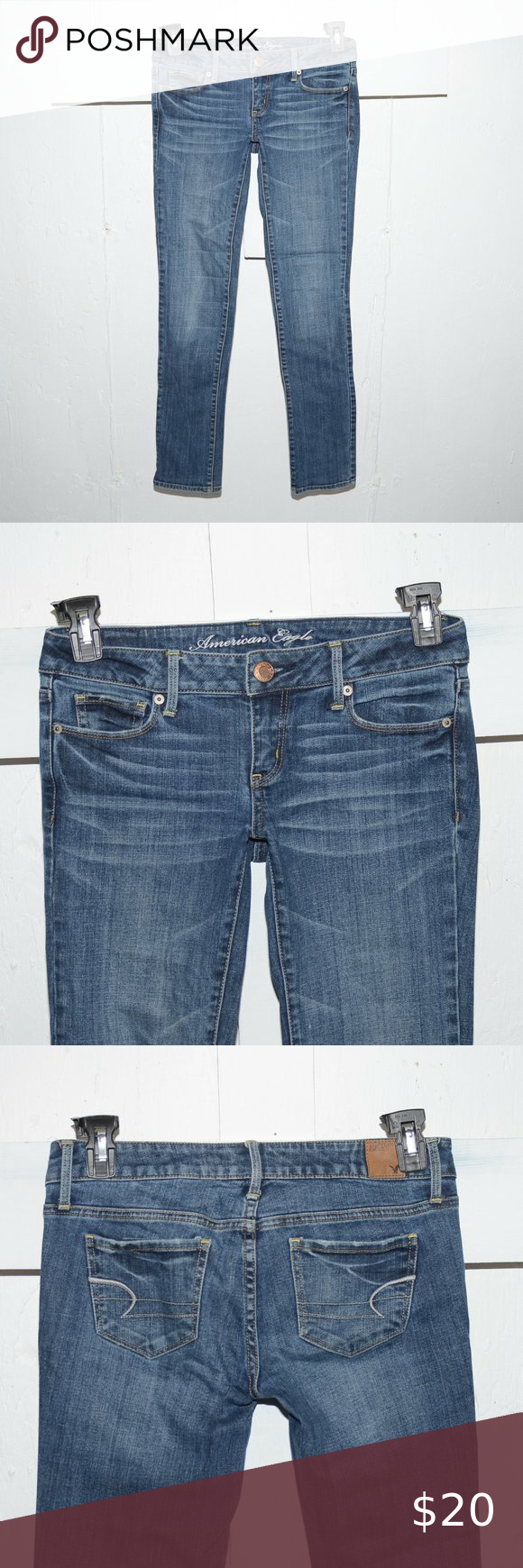 American Eagle Skinny Jeans Size 30 x 34 in 2020