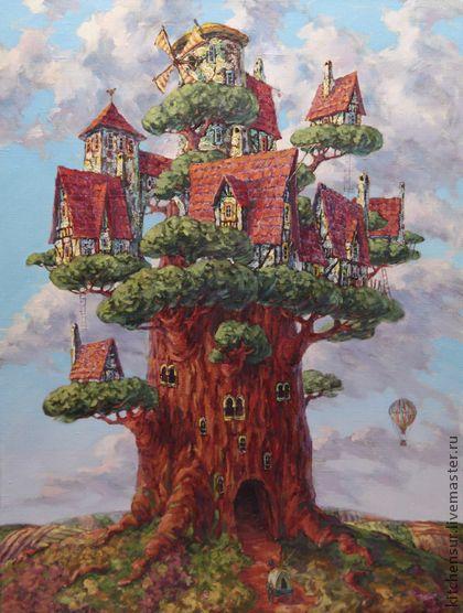 Дерево жизни | Картины, Краска, Работы
