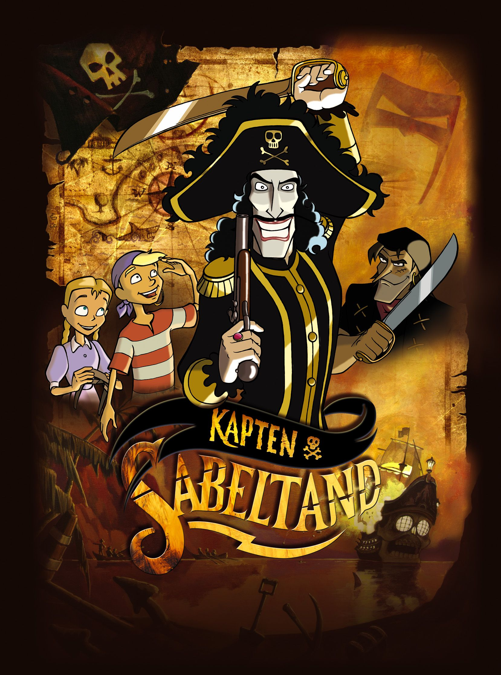 Captain Sabertooth | Pirate images, Sabertooth, Full ...