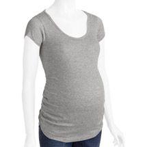Walmart: Planet Motherhood Maternity Short Sleeve Tee with Side Ruching
