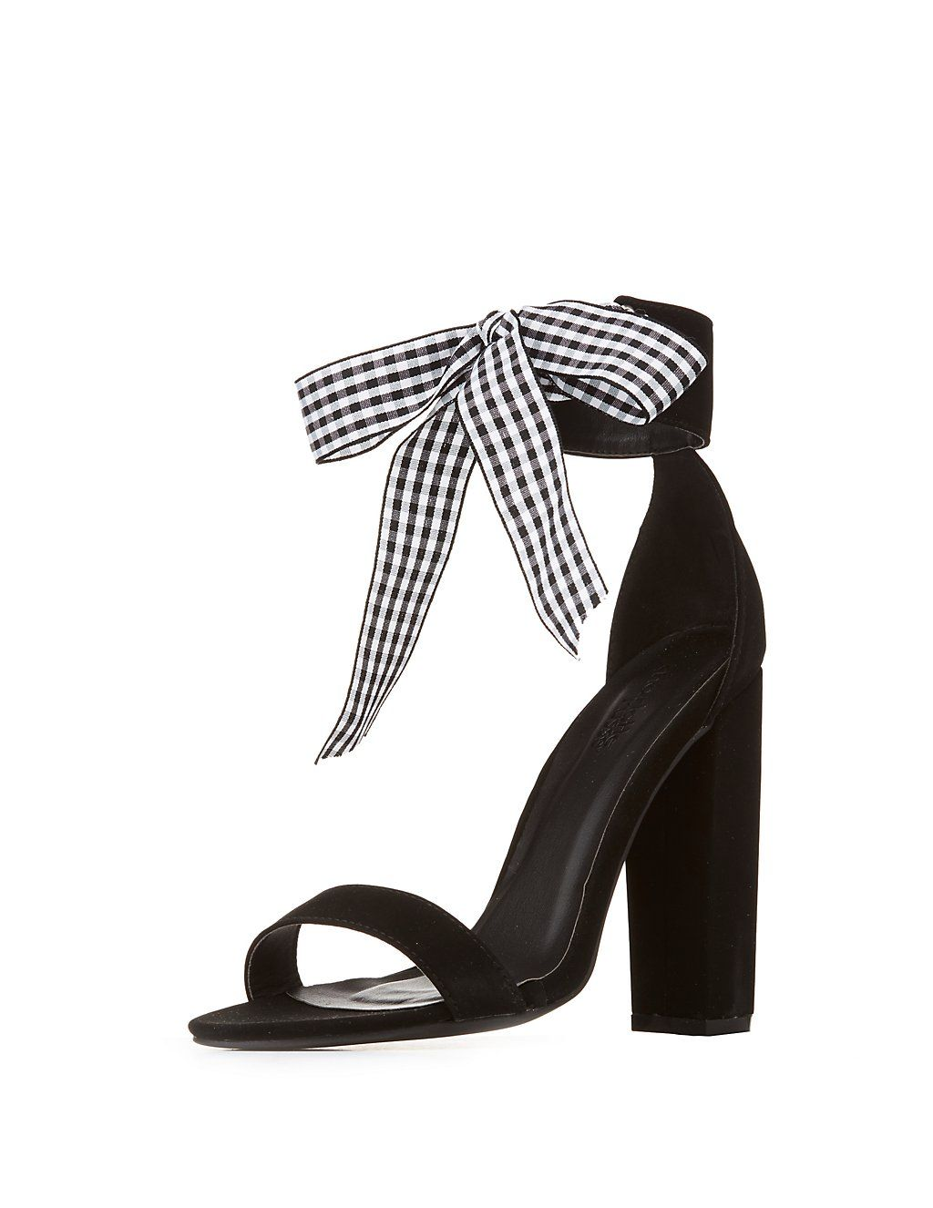 71a147faab8a6 Online only! Faux suede gives these marvelous ankle strap sandals for a  show-stopping