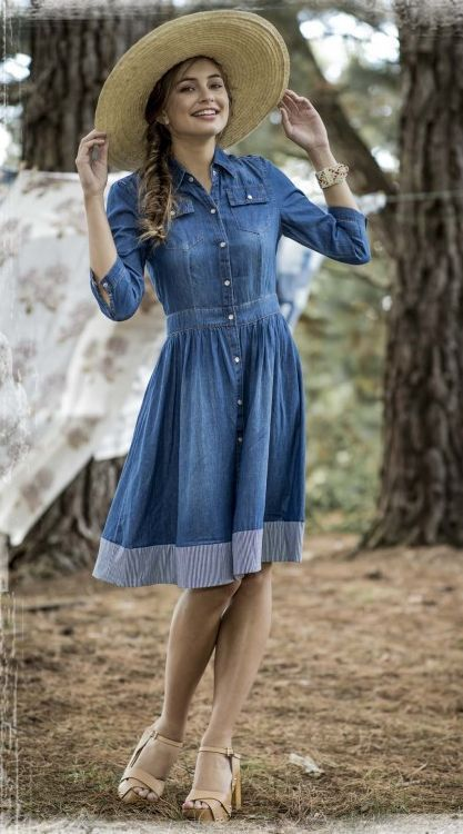 Mid-Length Flare Dress Ideas to Resume the Style – Designers Outfits  Collection 8aa7f6f45