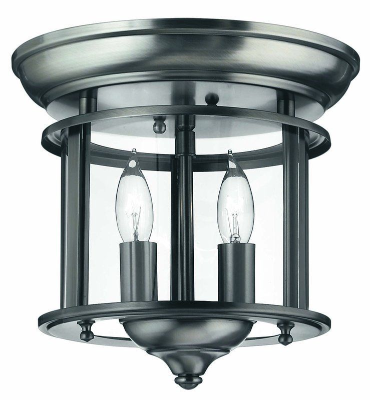 View the hinkley lighting h3472 2 light indoor semi flush ceiling fixture from the gentry