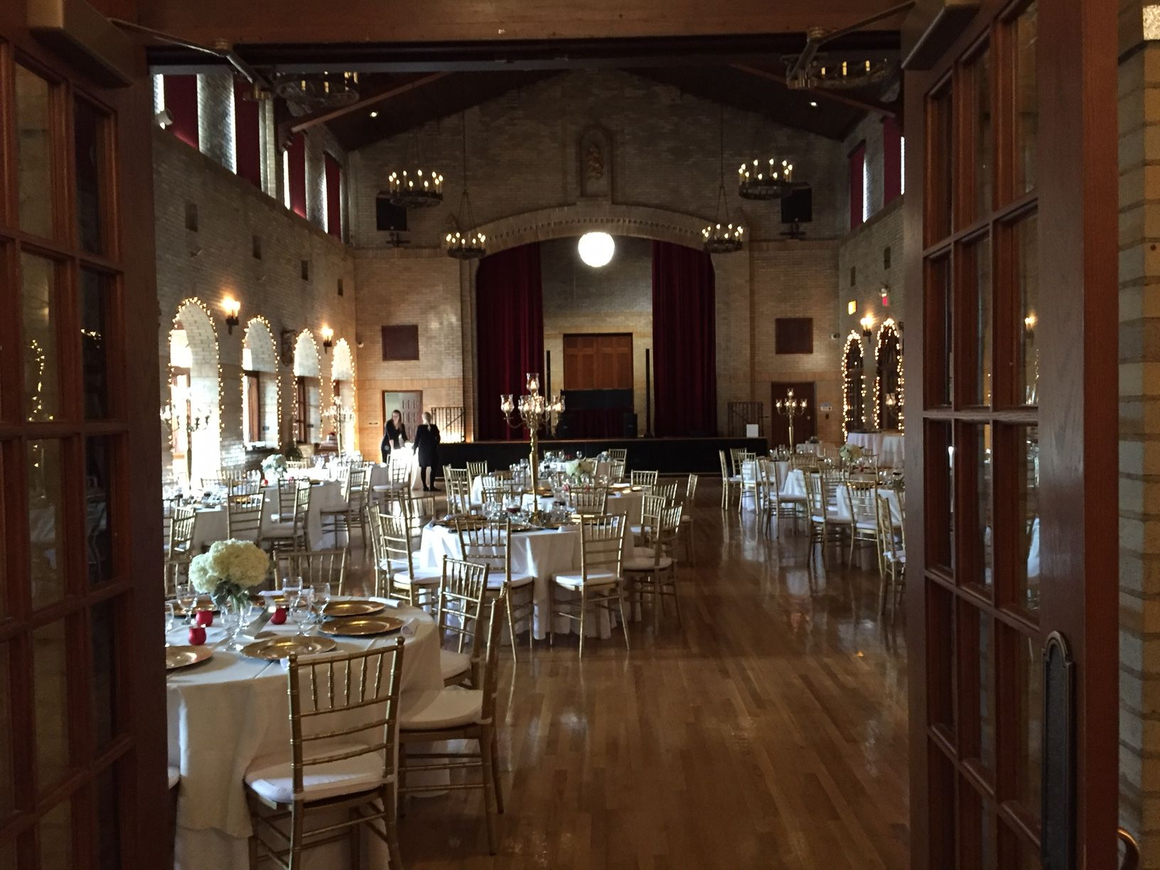 St Francis Hall Is A Hidden Gem Of A Wedding Reception Venue In