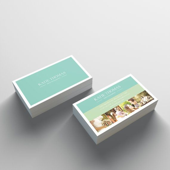 Business card template 2 sided business card design best of etsy business card template 2 sided business card design wajeb