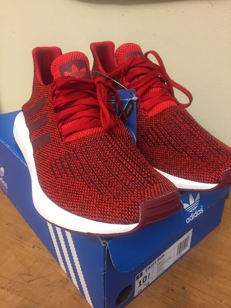 e42b3d6a68092 ADIDAS SWIFT RUN MENS SHOES RED  COLLEGIATE BURGUNDY  CLOUD WHITE SZ 10.5  CG4117  fashion  clothing  shoes  accessories  mensshoes  athleticshoes  ad  (ebay ...