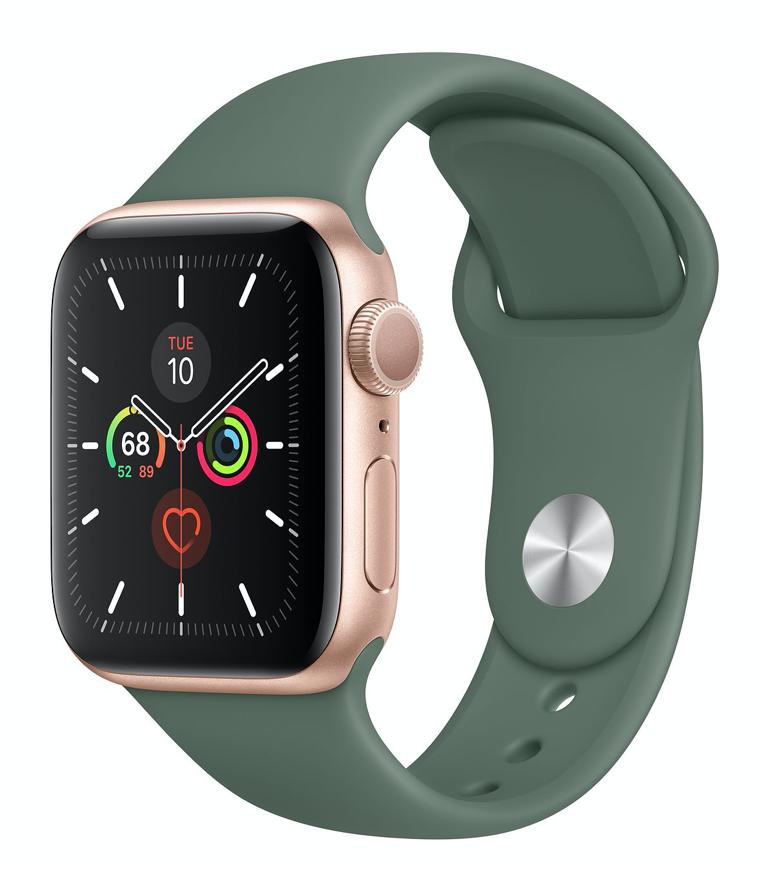Apple Watch Series 5 Gps 40mm Gold Aluminum Gold Apple Watch Hype Shoes Apple Watch