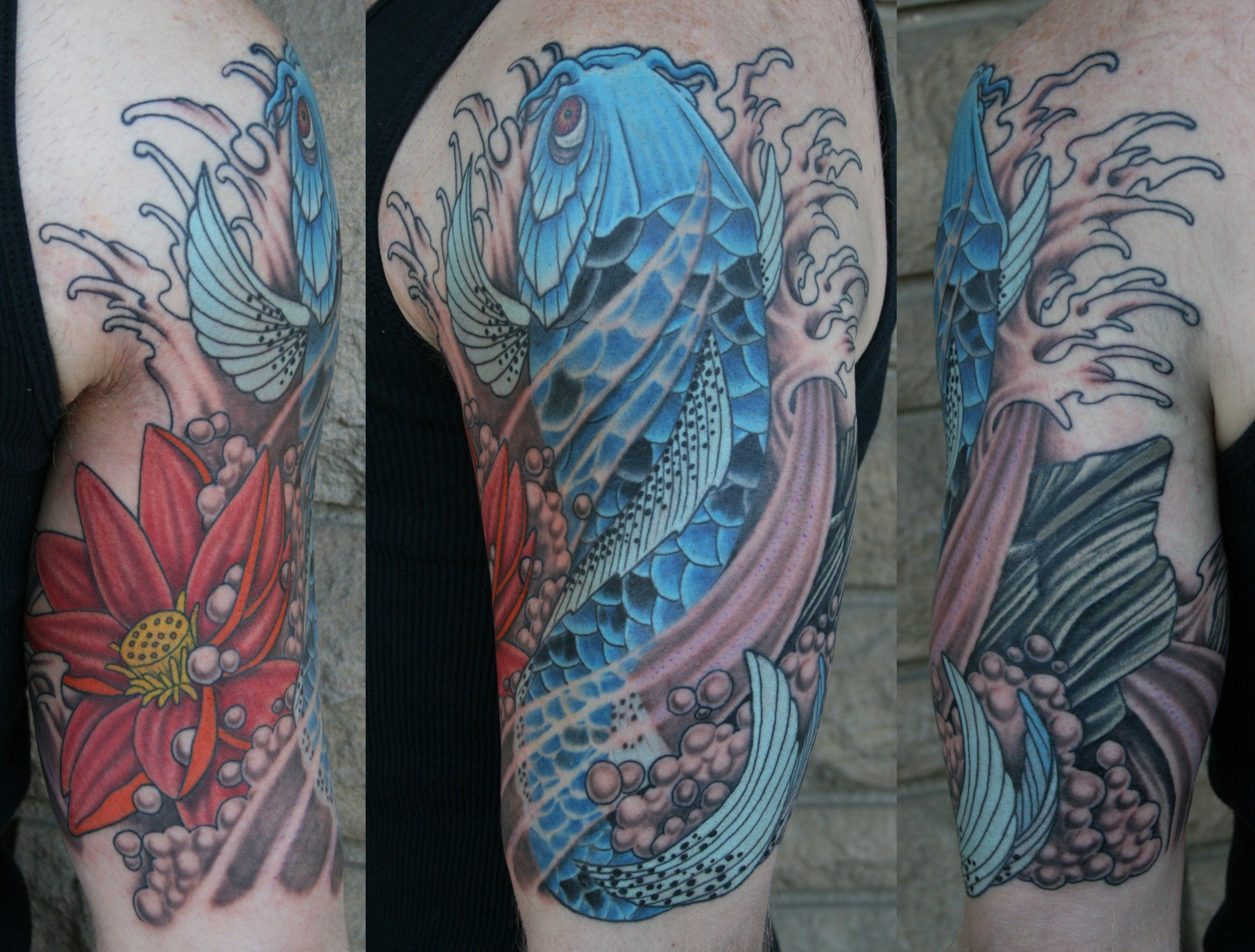 Blue Lotus Flower Tattoos Google Search Tattoos Pinterest