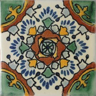 Valle Terra Nova Hacienda Ceramic Tile Mexican Tile Talavera Tiles Ceramic Tiles