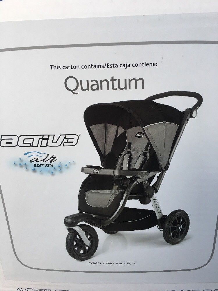 Chicco Activ3 Jogging Stroller, Quantum Chicco Cajas