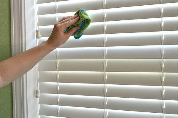 Easiest Way To Clean Wood Blinds Cleaning For Me