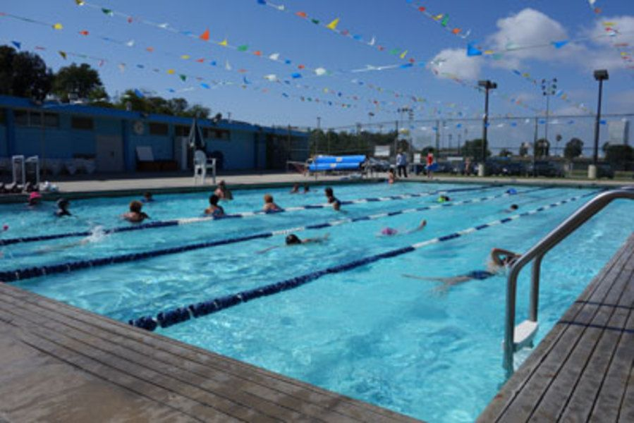 Stay Cool In The Heat And Enjoy A Refreshing Swim At Begg Pool Manhattan Beach