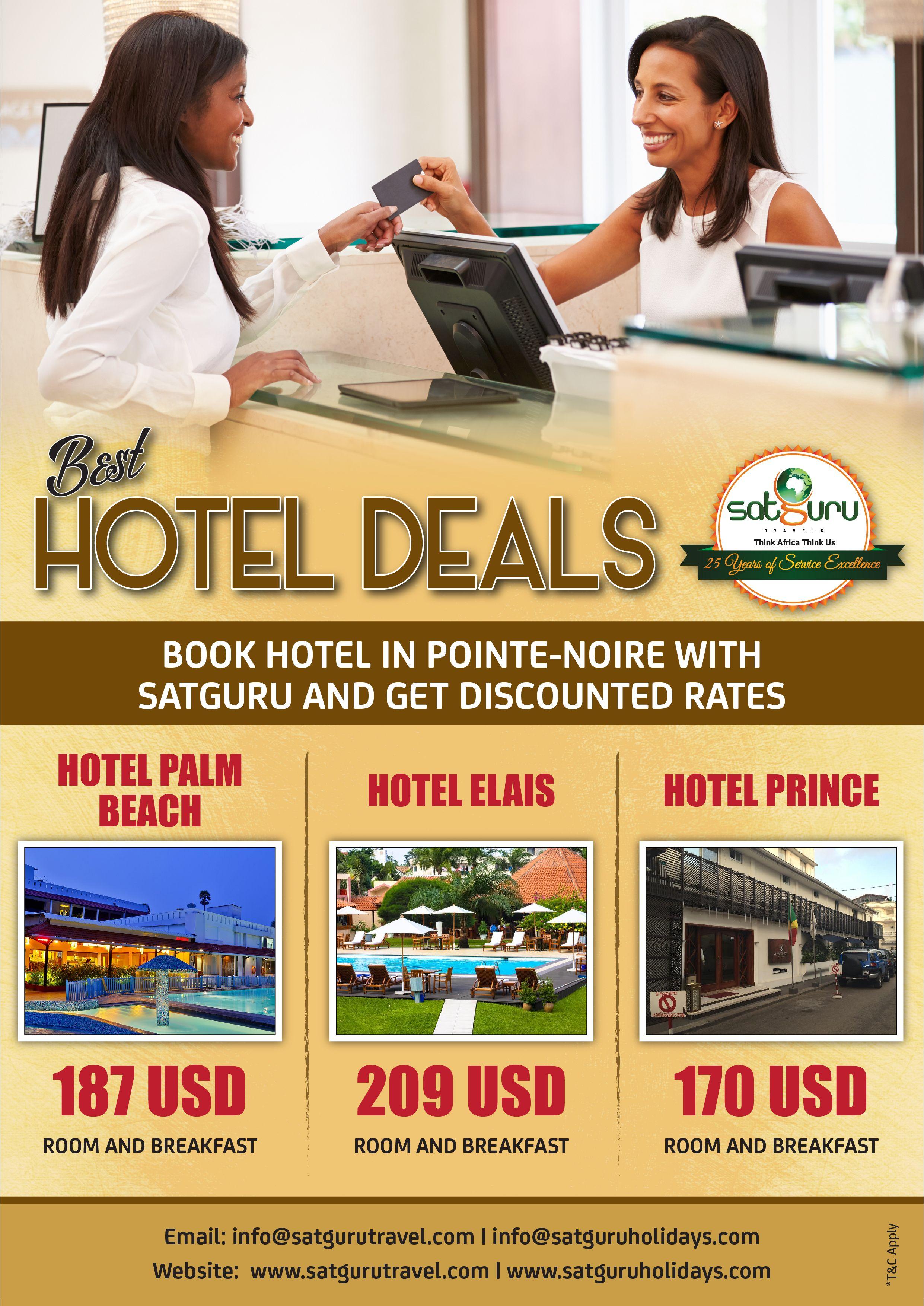 Best Hotel Deals In Pointe Noire Hotels Pointenoire Travel Tourism Best Hotel Deals Best Hotels Booking Hotel