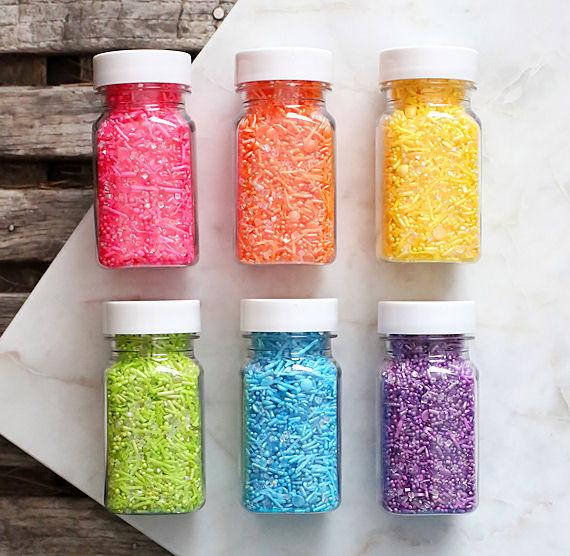 Sprinklefetti Sparkle Rainbow Sprinkles Set, Rainbow Sprinkle Mixes, Cookie Sprinkles, Cake Sprinkles, Ranbow Party Sprinkles #sprinkles #cupcakes #rainbow