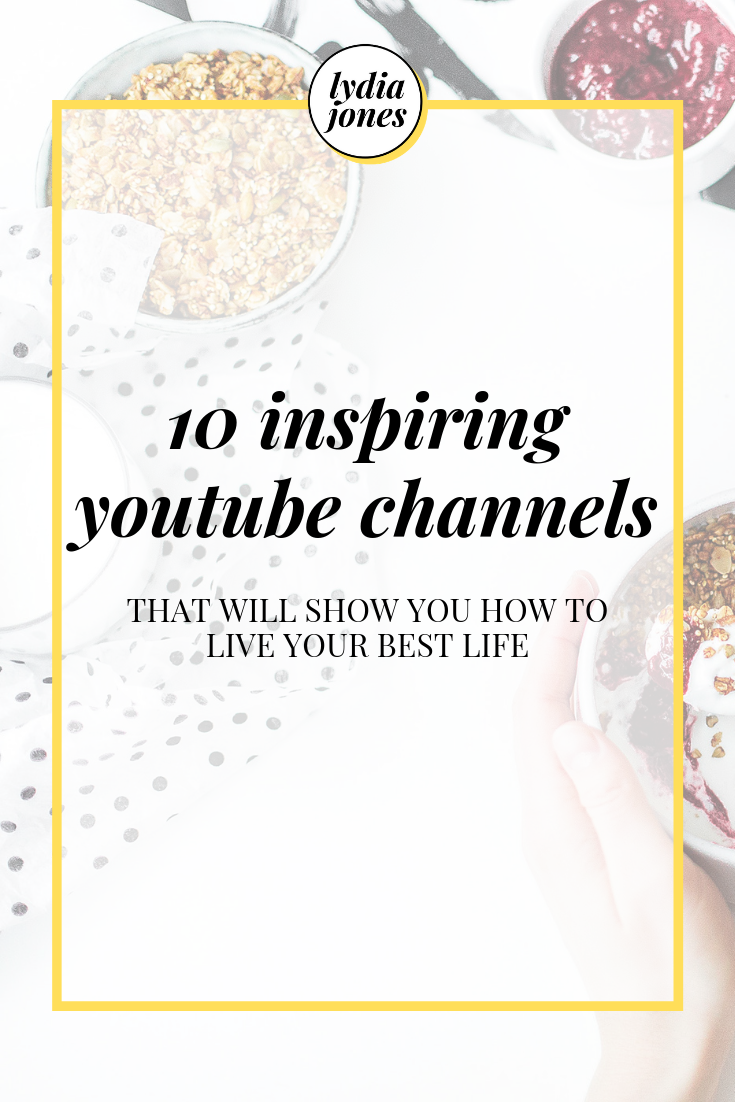 Live Your Best Life: YouTube Channels That All Bloggers
