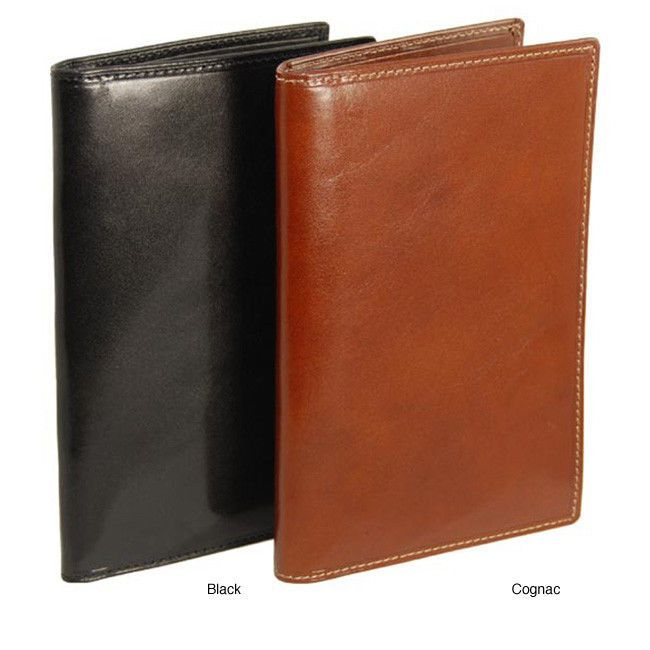 Colombo Long Credit Card Wallet  Italian Cowhide Leather Bill & ID Compartment