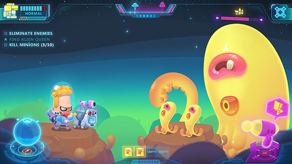Cutey Spacey Mobile Game Concept On Behance