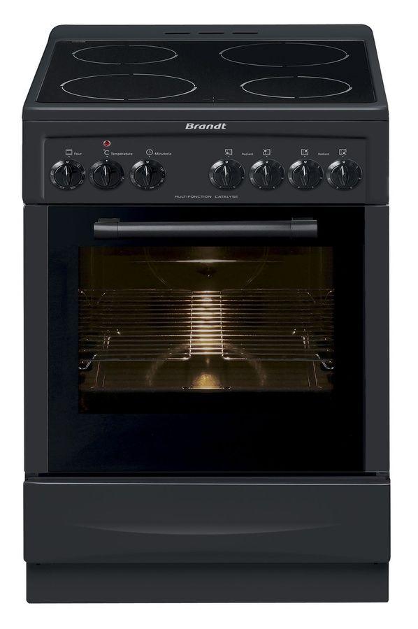 Cuisinière vitrocéramique Brandt KV1150A pas cher prix Cuisinière ...
