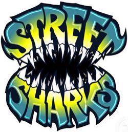 Street Sharks Logo Shark Logo Shark Art Sticker Art