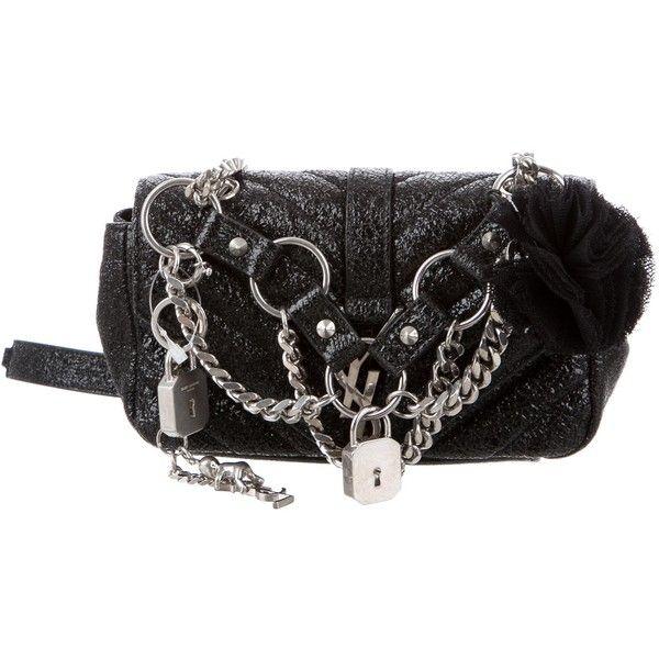 Saint Laurent Pre-owned - Baby monogramme leather crossbody bag EwYAM0JK