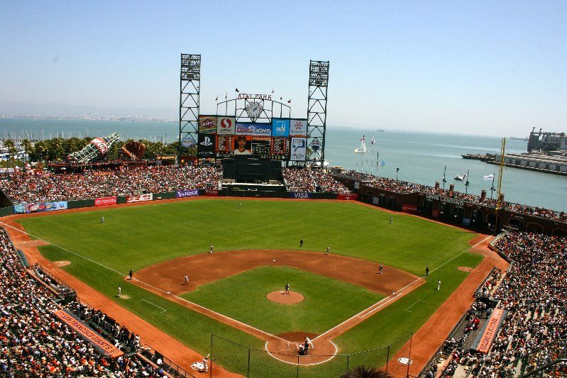 AT&T Park - Home of the San Francisco Giants and one of the most beautiful ball parks ever!