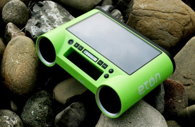 Eton Rugged Rukus All Terrain Portable Solar Wireless Sound System 15 Of Our Favorite New Charged Gadgets Wirelessspeakers