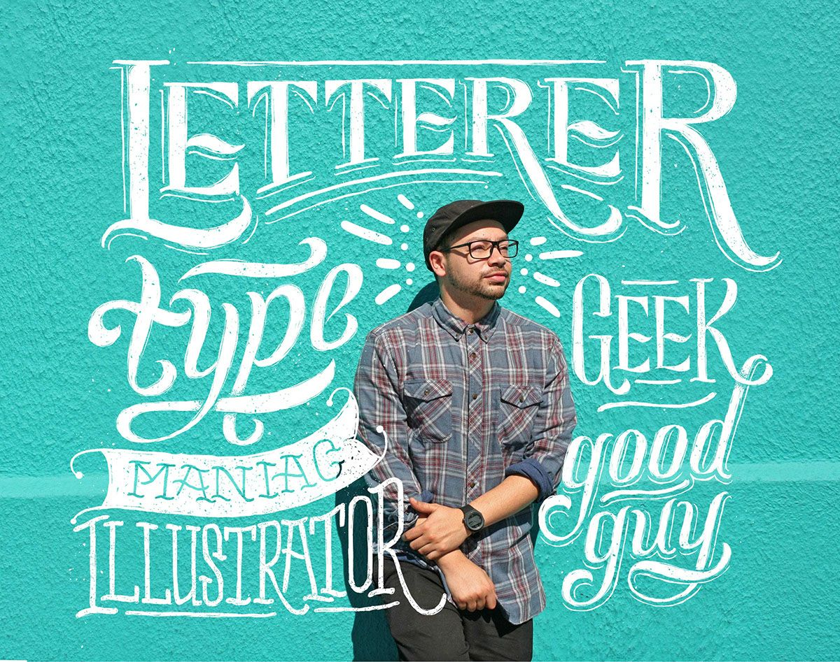 Letterer Blog Illustration on Behance