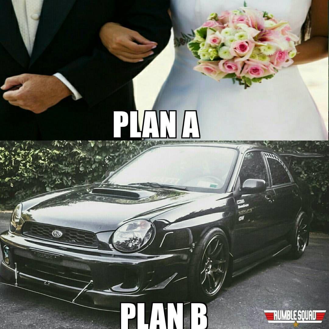 Plan A Plan B. Subaru, Wrx, Instagram posts