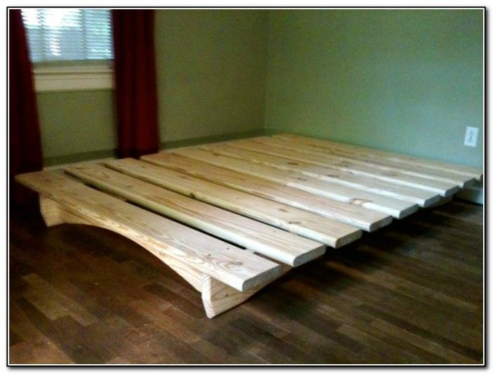 Queen Platform Bed Frame Plans Diy Queen Platform Bed Plans