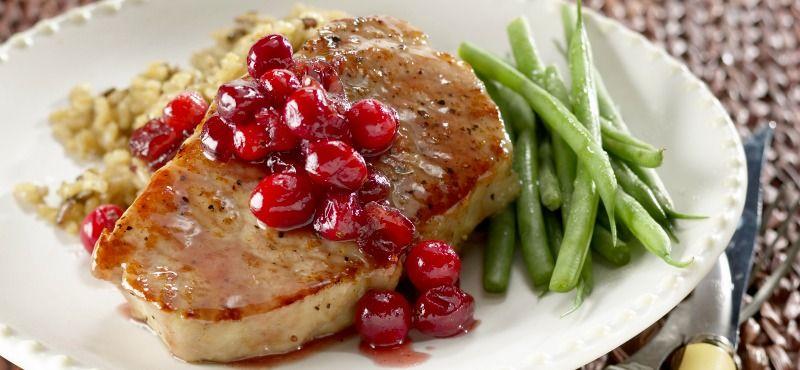 Lonza glassata con salsa di ribes rosso - Irlandando.it