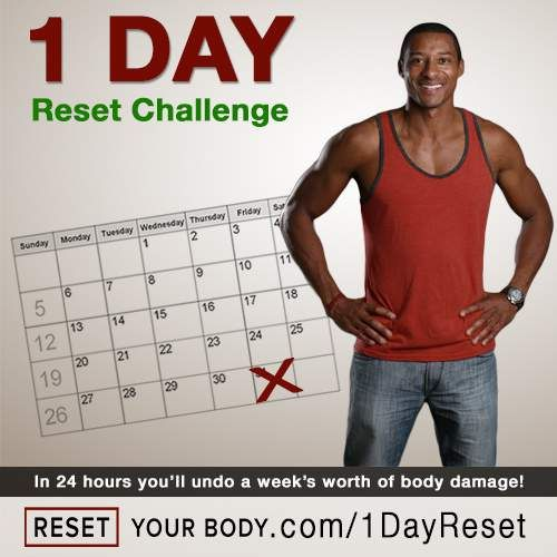 The 1 Day Reset Will Help You Undo A Week's Worth Of